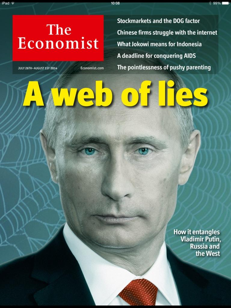 web of lies economist poetin