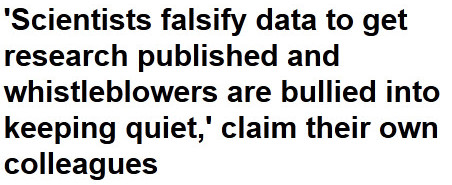 wetenschapsfraude