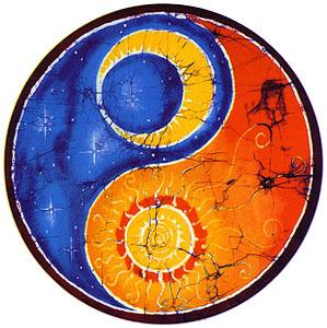christ yin yang